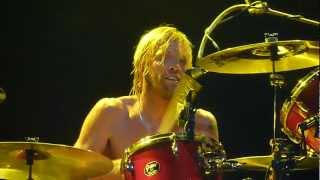 FOO FIGHTERS - Message In a Bottle (Police Cover) Live Summerfest Milwaukee, WI -  6/28/12