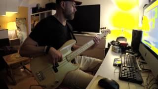 De La Soul - Drawn ft. Little Dragon bass cover