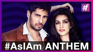 #AsIAm - Anthem - Sidharth Malhotra | Kriti Sanon | Meet Bros Feat Benny Dayal and Jankee Parekh