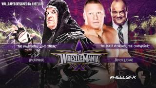 "2014: Undertaker vs. Brock Lesnar WWE Wrestlemania 30 Theme Song - ""In Time"" + Download Link ᴴᴰ"