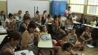 Debates en los talleres del XXVIII Encuentro Nacional de Mujeres de San Juan