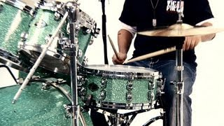 How to Play Basic Rock Drum Beats   Drumming