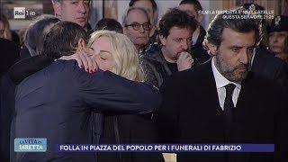 I funerali, l'ultimo saluto a Fabrizio Frizzi - La Vita in Diretta 28/03/2018