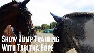 Show Jump Training with Tabitha Hope | PureEquestrian