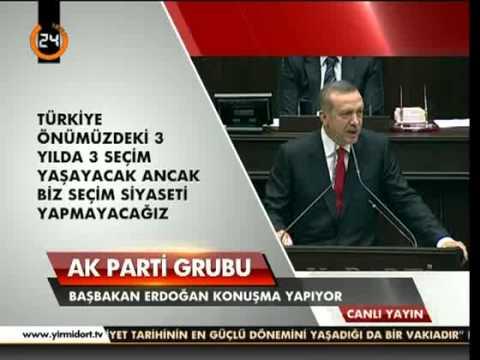 Başbakan Erdoğan. 2 Ekim 2012 TBMM Grup Toplantısı Konuşması.