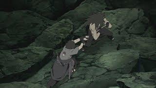 Sasuke se enfrenta contra Madara | Naruto Shippuden | Sub español
