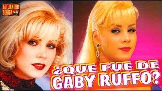 QUE FUE DE GABY RUFFO!!  Conductora de los noventas