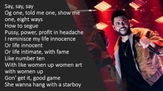 The Weeknd - Sidewalks (Lyrics)
