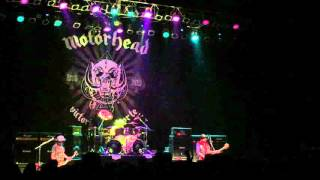 Motorhead Fillmore Detroit September 2015