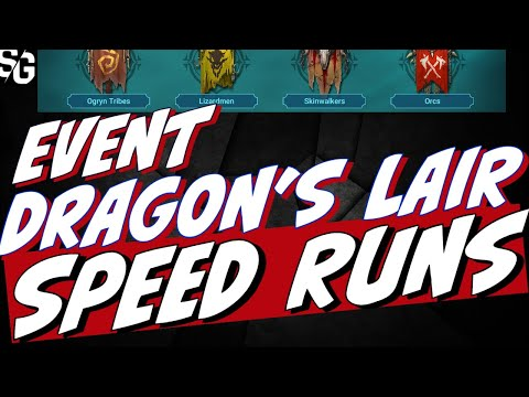 No lego dragon event with GAELLEN PACT only. Dragon 24 speed runs. Raid Shadow Legends