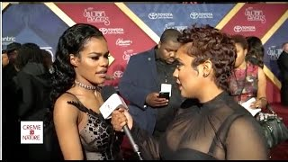 2016 Soul Train Awards Red Carpet with Creme of Nature