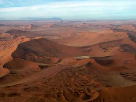 Flying over Sossusvlei, Walvis Bay, Damaraland Namibia — Astonishing Scenery!