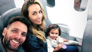 Odalys Ramírez, Pato Borghetti y su hija Gía se van de vacaciones (redes sociales 20 de mayo 2018)