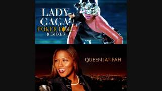 Poker Face ft. Queen Latifah (Free Style) HD