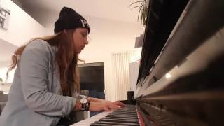 Cover Le vide Slimane piano voix - TheCasta