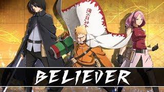 「AMV」Naruto - Believer