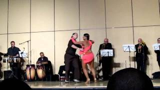 Eddie Torres Jr. and Nelida Tirado Live @ the Big Apple Salsa Festival 2011