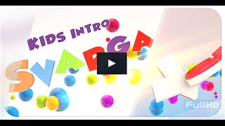 3D Ball Kids Intro // Logo Reveal   After Effects template