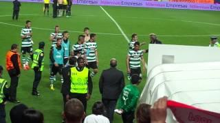 Benfica 2-0 Sporting: Final de jogo e Rui Costa 21-04-2013