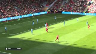 Fifa 15 Great long shot by Gerrard