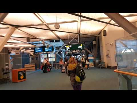 PLEASANT ARRIVAL AT THE VANCOUVER AIRPORT