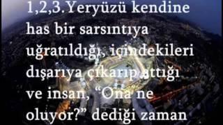 ZİLZÂL SÛRESİ Türkçe MEAL yasser al dosari   Dailymotion video