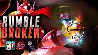 HOW BROKEN IS RUMBLE? GAME CHANGING ULTIMATES! - League of Legends Gameplay