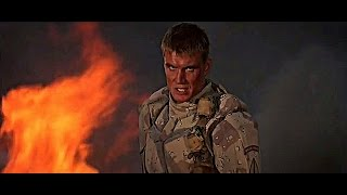 """UNIVERSAL SOLDIER [1992] Scene: """"I'm giving the orders..."""""""