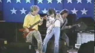 Van Halen, & S. Hagar - Rock And Roll - Live Farm Aid '85 (Led Zeppelin Cover).mpg