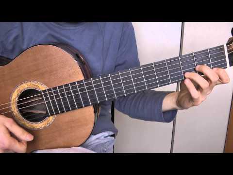 Comment jouer Mon amie la rose de Françoise Hardy à la guitare 2/2