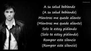 SÚBEME LA RADIO - Enrique Iglesias FT. Descemer bueno - Zion & Lennox ( Letra )