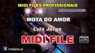 ♬ Midi file  - MOTA DO AMOR - Luis Jorge