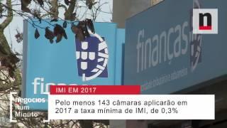 O que os municípios decidiram sobre as taxas e IMI a aplicar em 2017