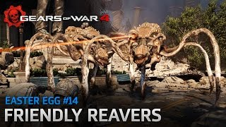 Gears of War 4 - Easter Egg #14: Friendly Reavers on E-Day