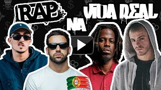 Músicas Rap na Vida Real ♫ (Versão Tuga)