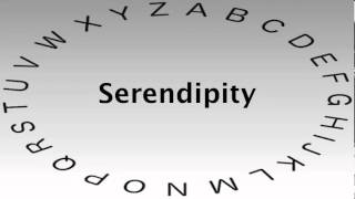 Spelling Bee Words and Definitions — Serendipity