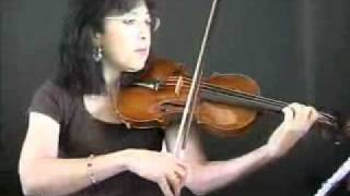 Violin Lesson - Demo of Main Theme to Moonlight Sonata By Beethoven
