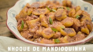 Nhoque de Mandioquinha | Receitas Luanda Gazoni
