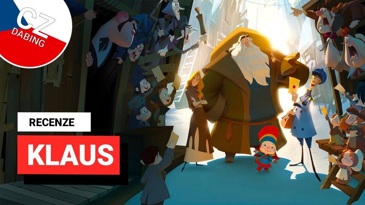 RECENZE: Klaus dává Netflixu do rukou novou vánoční klasiku!