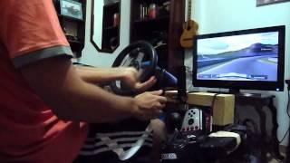 Gran Turismo 5 G27 Drift - Testing camera