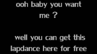 Lapdance With Lyrics