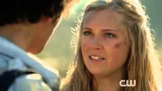 "The 100- Clarke kisses Bellamy ""May we meet again"" (2x16)"