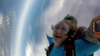 Adele's Skydiving Video