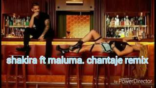 Chantaje remix. Shakira. Ft. Maluma