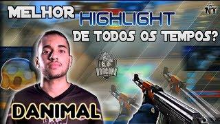 😱 O MELHOR HIGHLIGHT DE TODOS OS TEMPOS? | MELHOR DANÇA DE TODAS! | DANIMAL 1 x 5 | CROSSFIRE AL 2.0