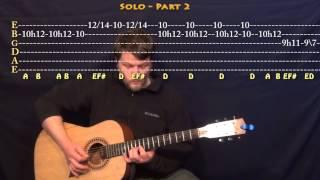 Thinking Out Loud (Ed Sheeran) Lead Guitar Solo Tab