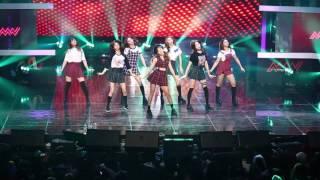 [DMC Cam] CLC - PEPE, A.M.N Showcase @ DMC Festival 2016