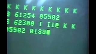BCL  怪電波 シングルレター「K」