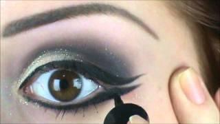 Traços da maquiagem da Paula Fernandes