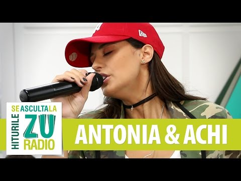 ANTONIA feat. Achi - Get Up And Dance (Live la Radio ZU)